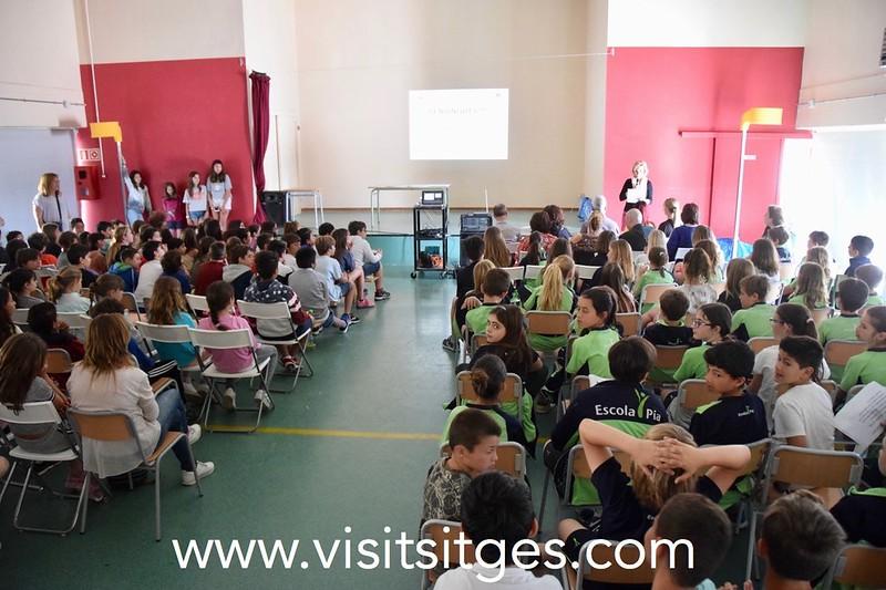 Comunicado de prensa del Ayuntamiento de Sitges respecto al traslado de la Escuela Pia