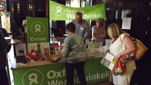 Oxfam-stand