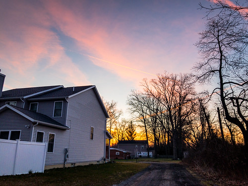 landscape sunrise bayvillage ohio unitedstates us