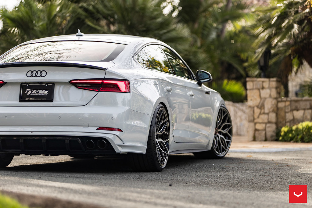 Audi S5 Sportback - Vossen Hybrid Forged HF-2 Wheels - Bru… | Flickr