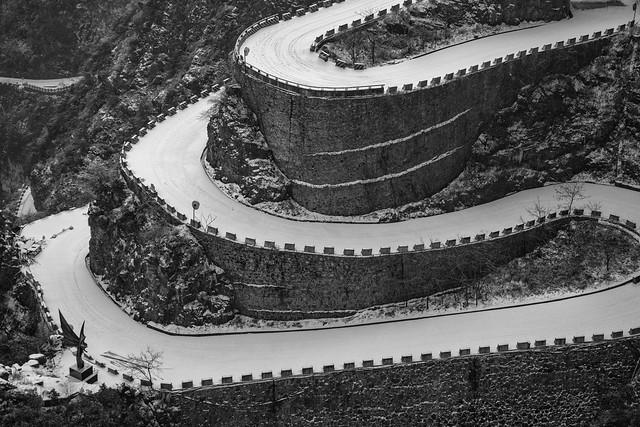 The death street - Tianmen mountain