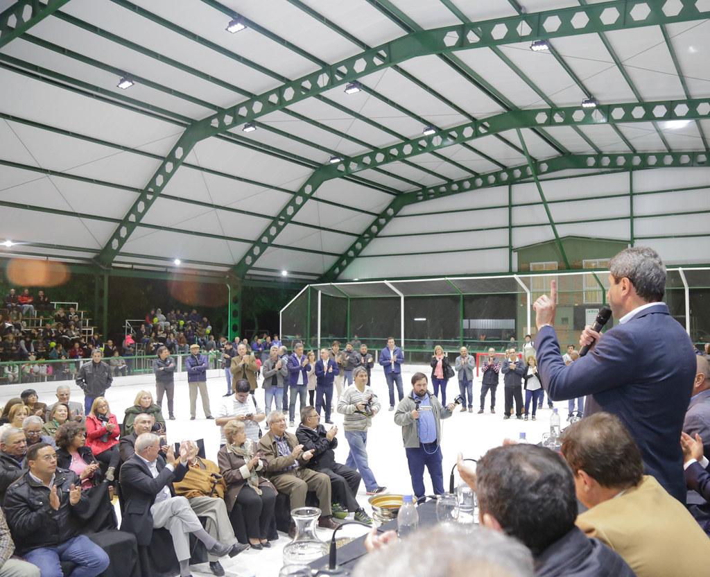 2018-05-07 PRENSA: Inauguración de Techado, Iluminación y Obras Remodelación del Club Unión Deportivo Estudiantil.