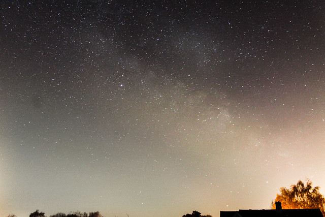Pre-dawn Milky Way from Oxfordshire 20/04/18