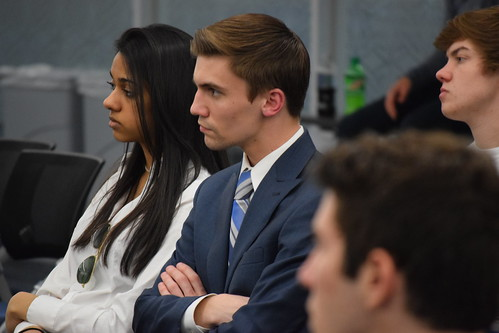 Students learn more about various Wall Street Careers