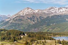 San Juan Mountains from Molas Pass