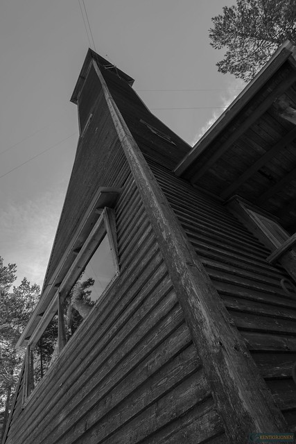 Lookout tower B/W 1