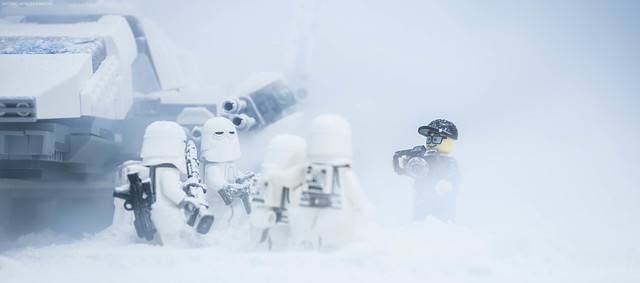 Me in Hoth...Ok guys, another shoot!
