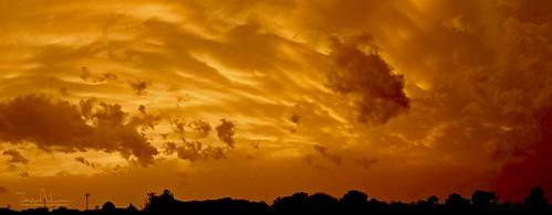 sunset clouds cloudy orange texas weather cloudsstormssunsetssunrises
