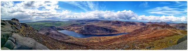 Silent valley Reservoir panorama