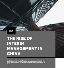 The Rise of Interim Management in China
