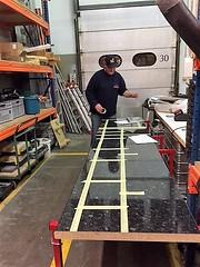 2018 Bau des mobilen Ausschankes