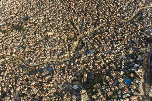 peaceonearthorg aerial kathmandu nepal