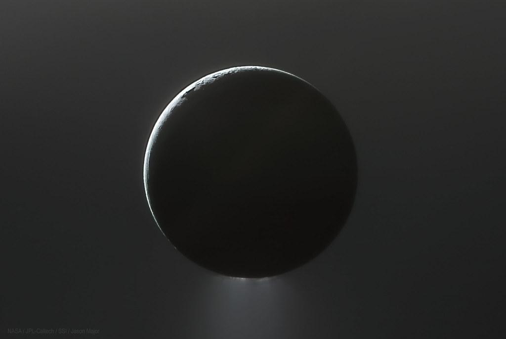 Enceladus in the E ring