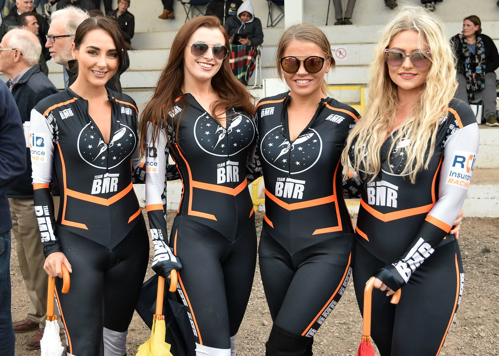 Rye House Speedway Grid Girls 2018 These Young Ladies