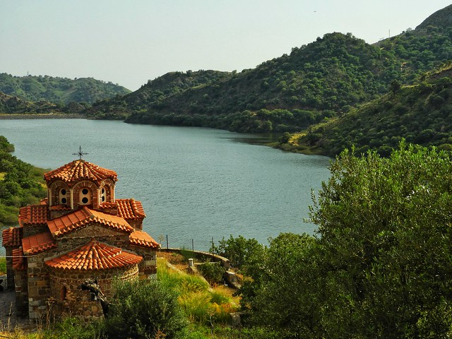 monastery of Pithariou..Lesvos Greece