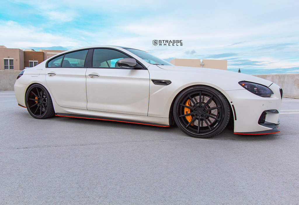 Strasse Wheels Bmw M6 Gran Coupe R10 S Deep Concave Wheels Flickr