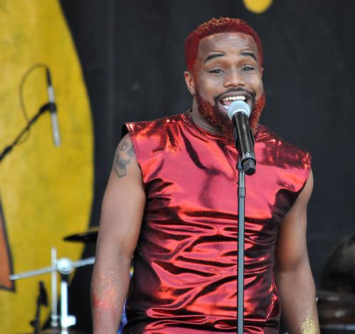 Rahim Glaspy on the Congo Square Stage