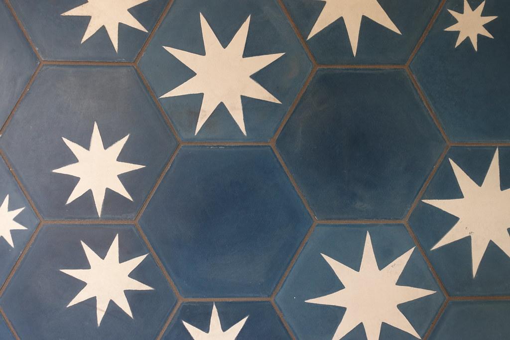 Hexagon Star Tile | mads media/2018seattlemodern/#Home1