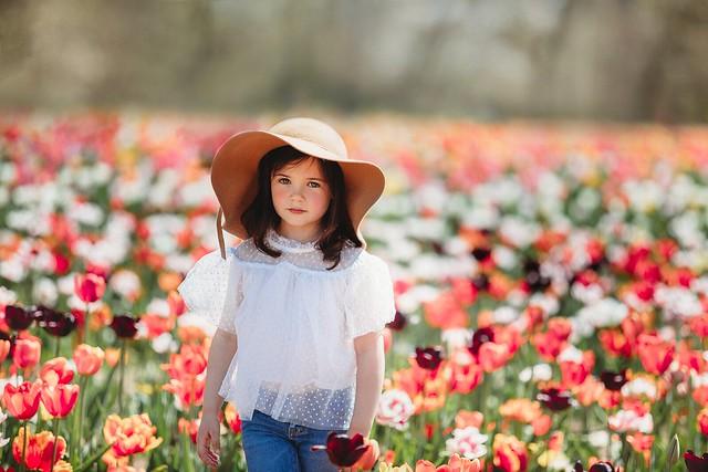 Tip Toe Tulips