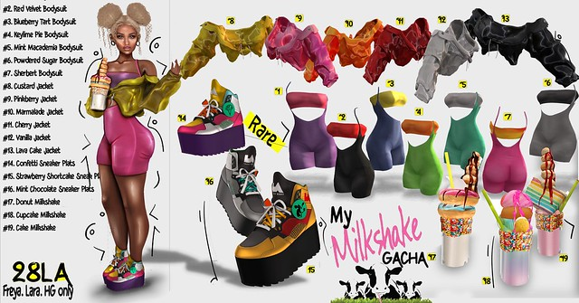 28LA. My Milkshake Gacha