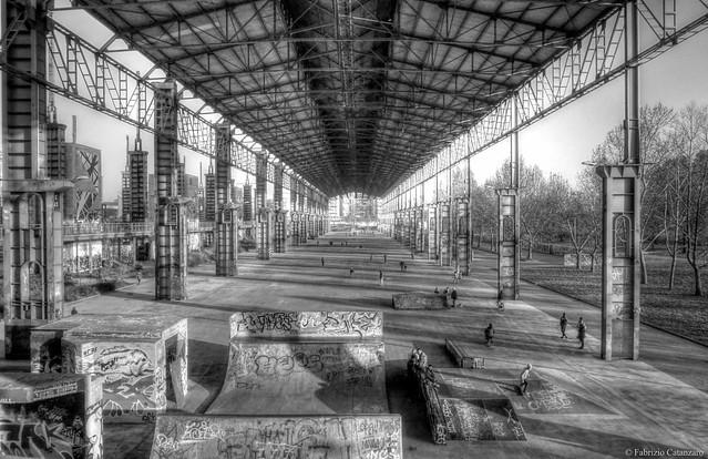 Parco Dora skatepark
