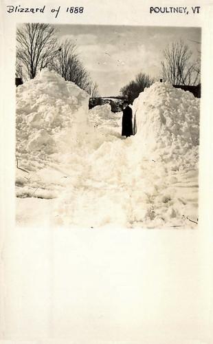 cityinruins disaster vintage postcard vermont