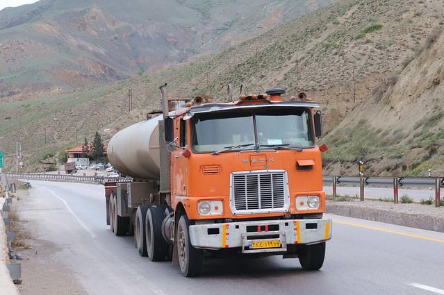 Mack Truck, near Firuzkouh, Iran