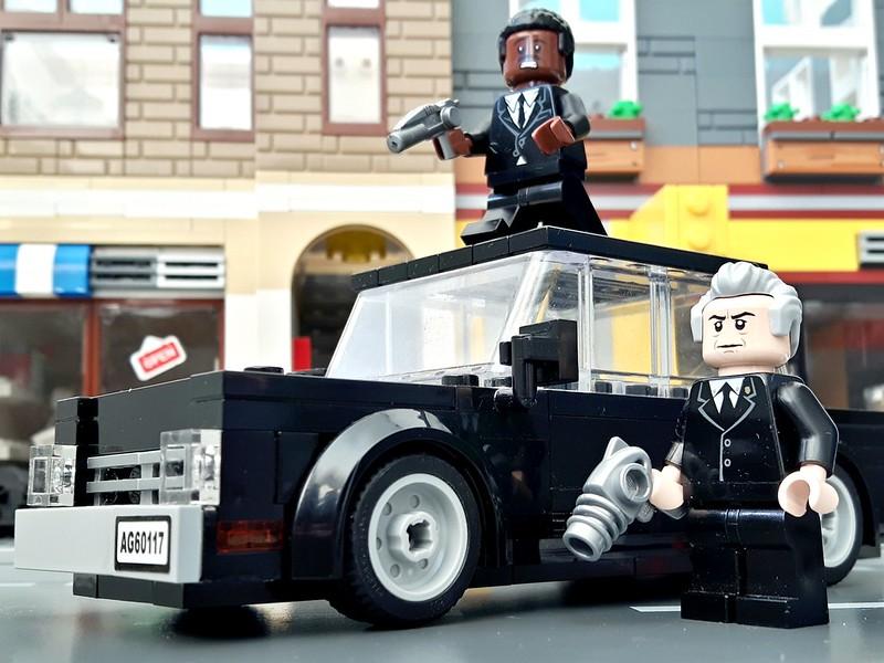 Men In Black, Agents J &Amp; K...