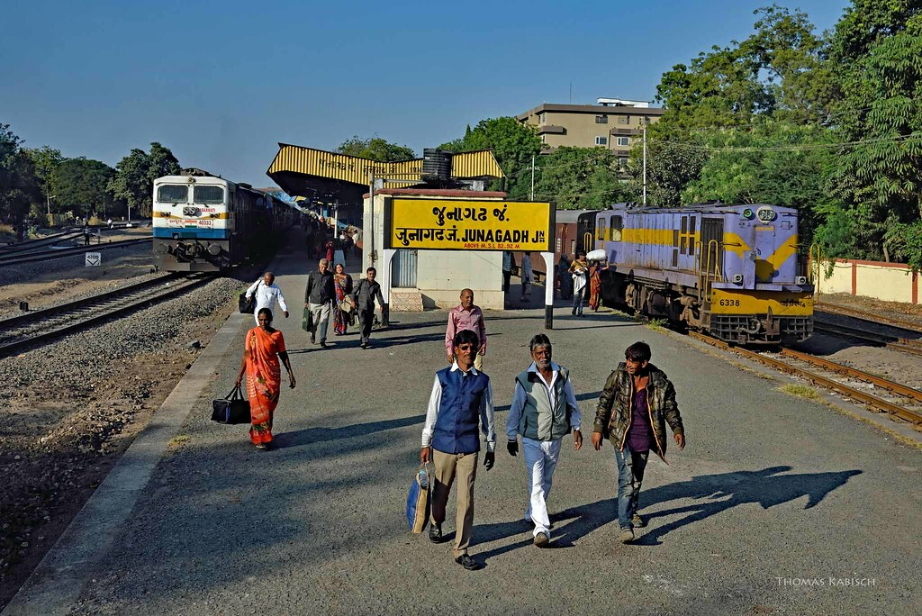 Gujarat govt to move proposal before centre for shifting of railway station of Junagadh
