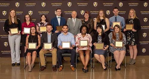 Congratulations to the 2018 recipients of the VUAA Distinguished Student Award! #GoValpo #ValpoGrad