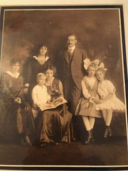 Harriet Messmann and Family around 1917
