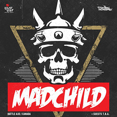 Madchild Live @Death Disco ?This child has gone mad? once again!?