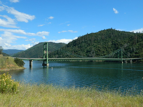 Oroville Suspension Bridge