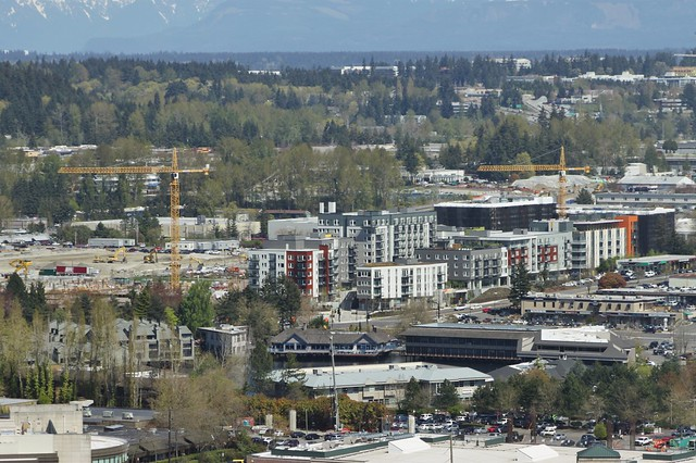 Spring District from Downtown Bellevue, April 2018