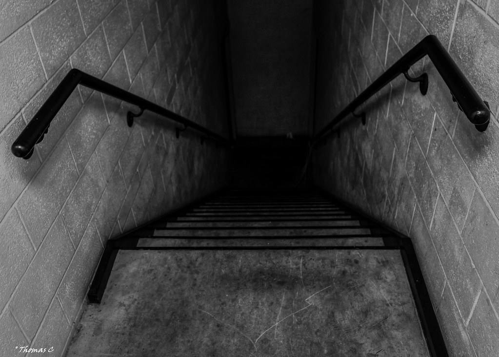 Image result for dark stairwell