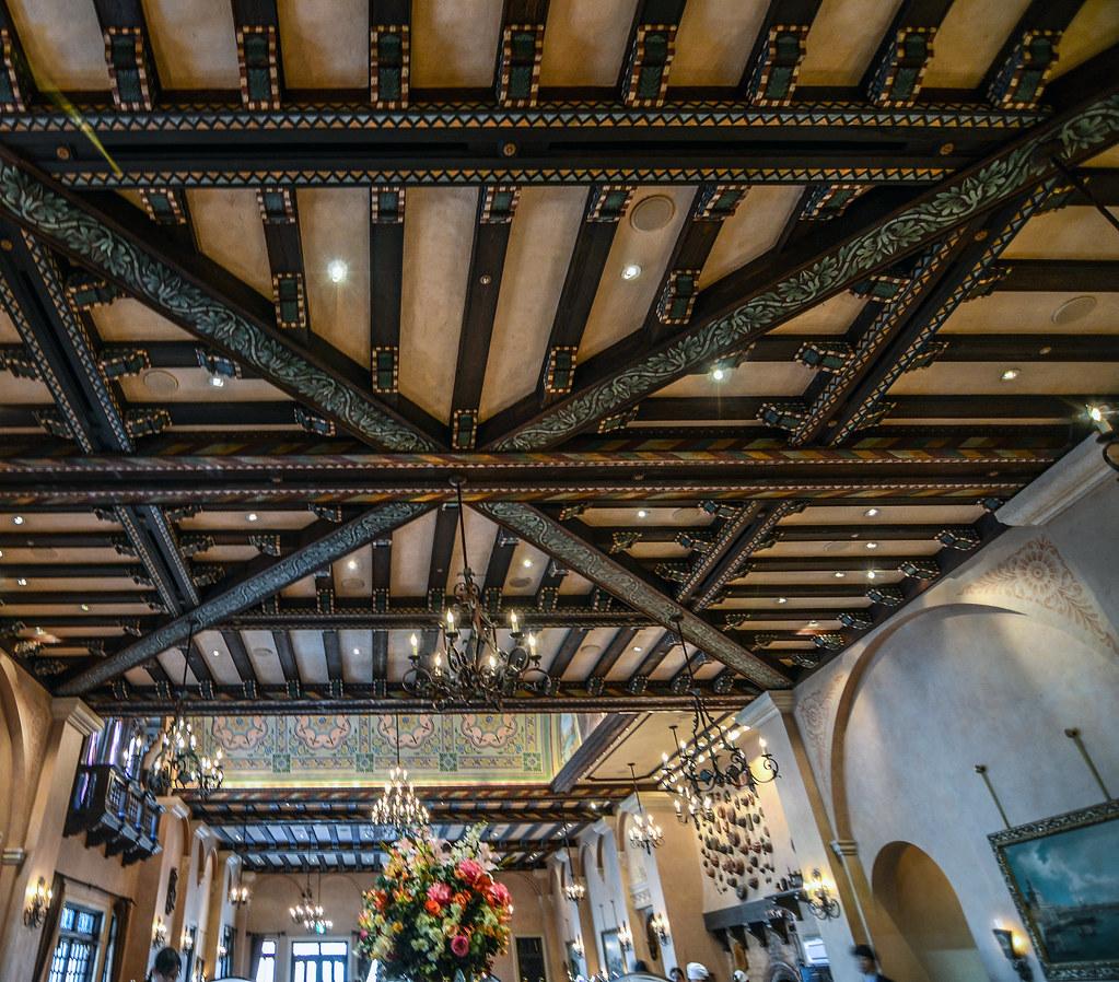 Ristorante di Canaletto ceiling