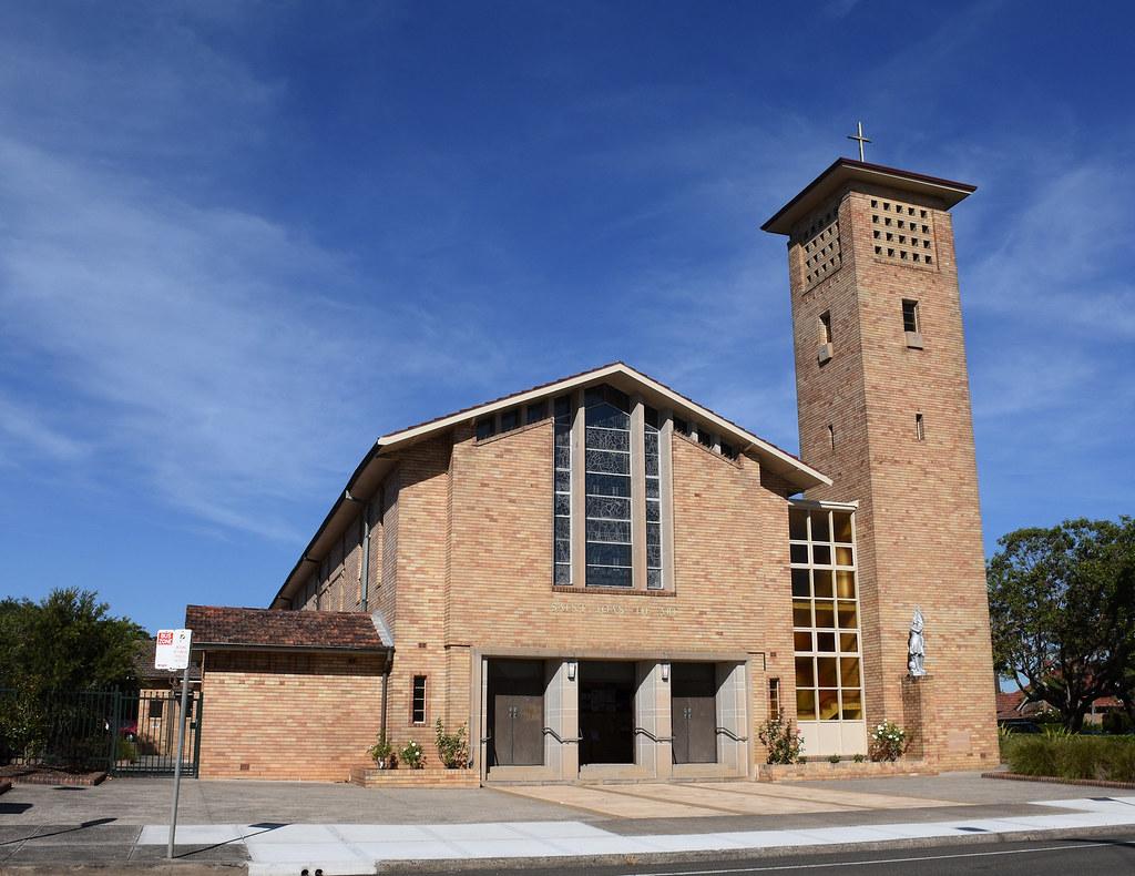 Catholic Church, Haberfield, Sydney, NSW.