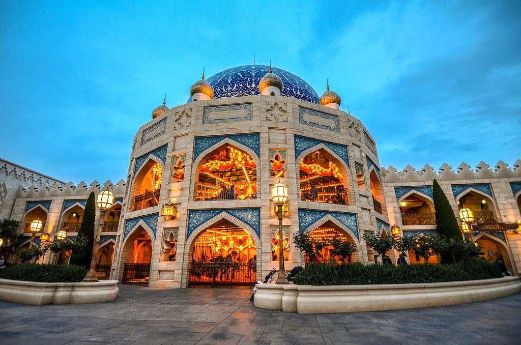 Arabian Coast carousel TDS
