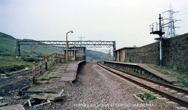 LNER/BR Dunford Bridge Station View East 18th May 1985