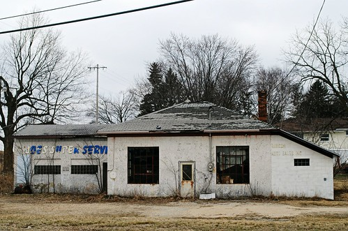 Former Service Station - Rubicon, Wisconsin | by Cragin Spring