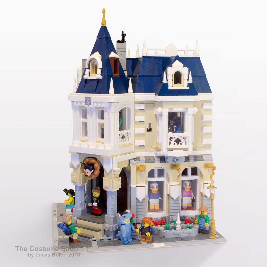 Brickfinder - Rebrick your LEGO Disney Castle into this
