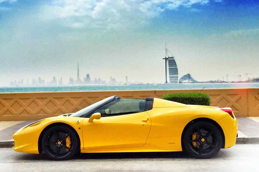 Rent A Ferrari In Dubai Airport Through Vip Car Rental Flickr