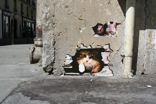 Cat & Mice paste-ups   by Jürgo
