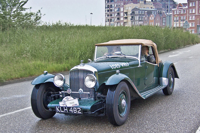 Bentley 3.5 LITRE Mayfair Drophead Coupé 1935 (6866)