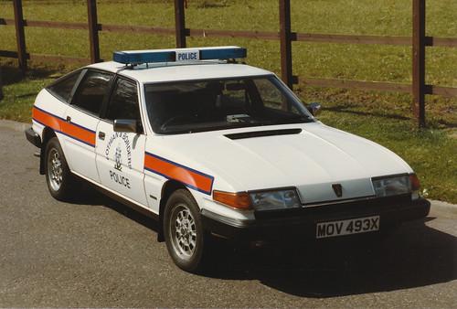 Rover SD1 2600 MOV 493X,'ZH T13',L&B Traffic Dept.Fettes.1984 | by landshark2084