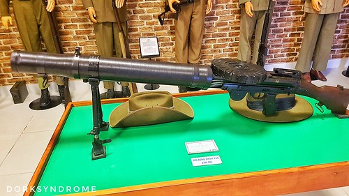 Lewis gun...