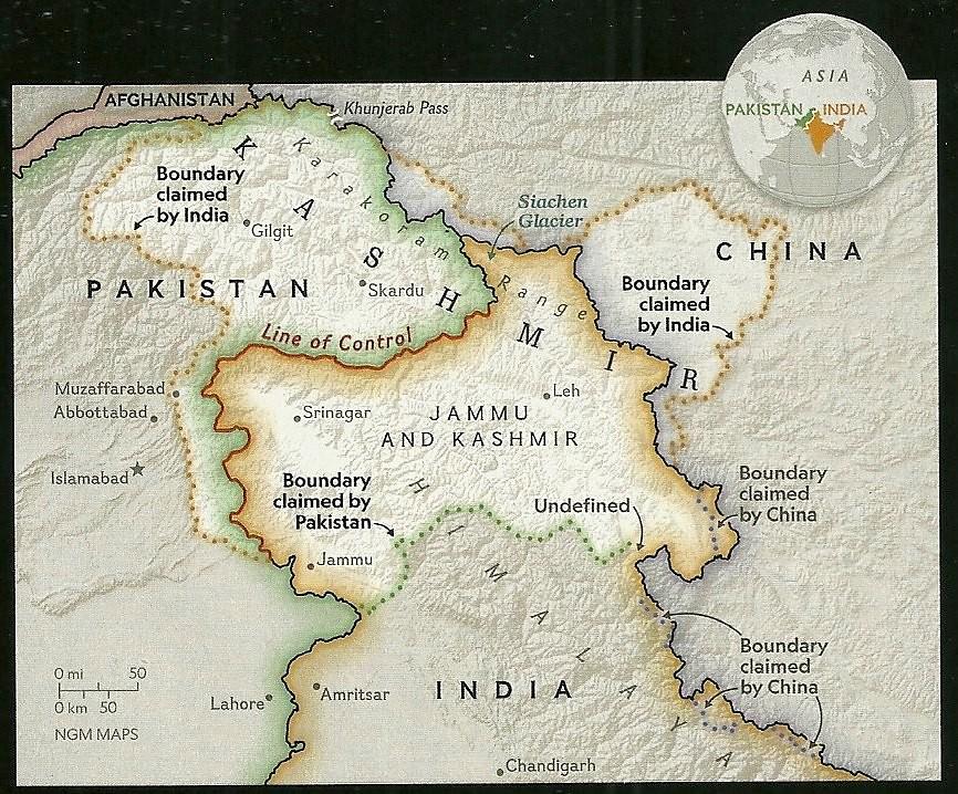 Risultati immagini per Pakistan India-Kashmir