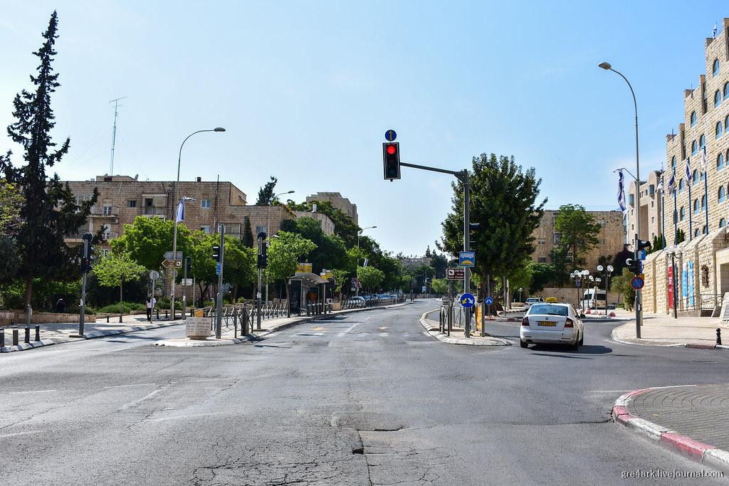 Линия скоростного автобуса в Иерусалиме