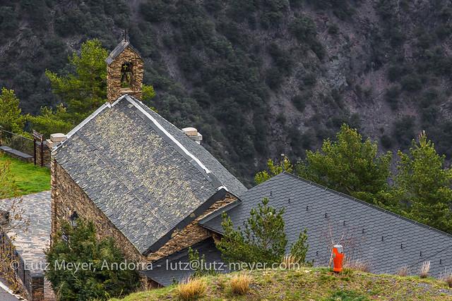 Andorra churches & chapels: Sant Julia parroquia, Gran Valira, Andorra, Pyrenees