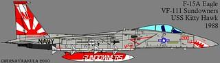 F-15-VF-111-Sundowners-1988   by Motschke